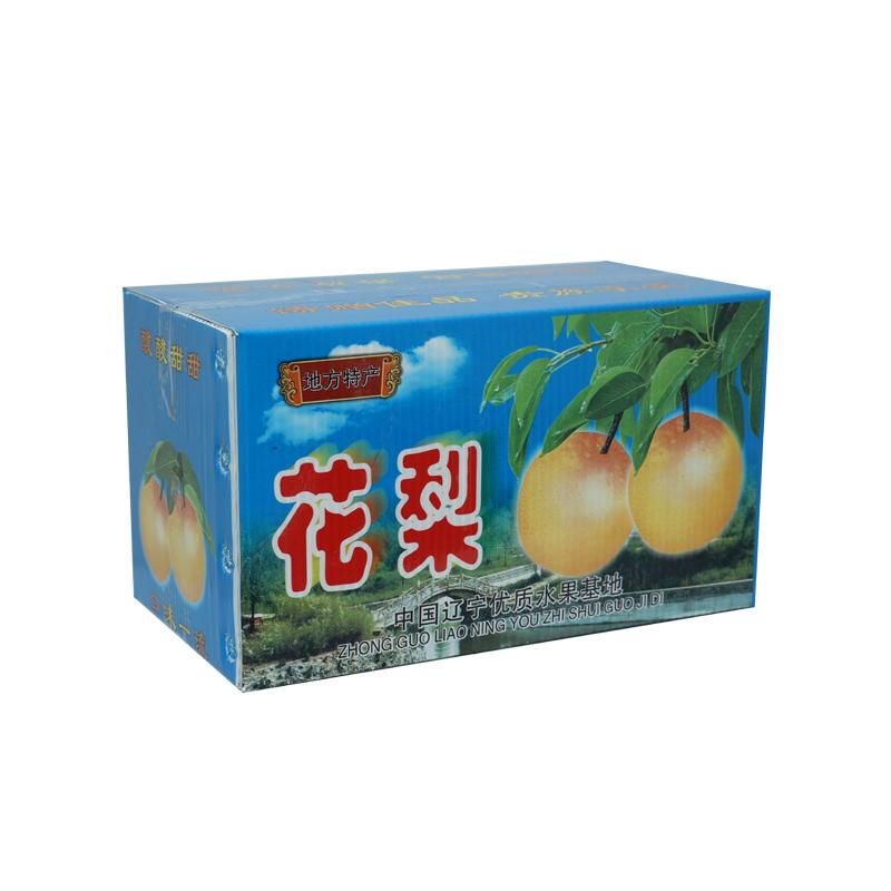 Contenedores de cajas agrícolas de plástico corrugado para frutas tamaño personalizado diseño de color para empaque o circulación