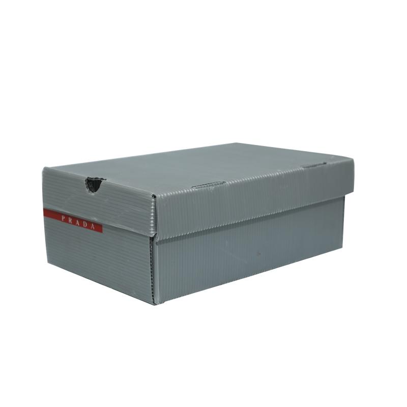 Contenedores de cajas de zapatos de plástico corrugado tamaño personalizado diseño de color para embalaje o circulación
